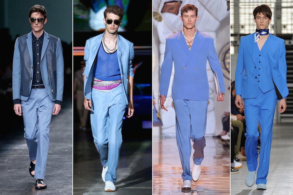 Monochromatic colors fashion