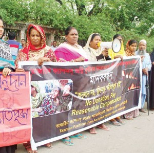 punish rana plaza, tazreen fashions owners- labour leaders