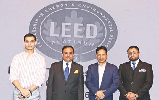 envoy textiles recognised for green initiatives: leed platinum certification