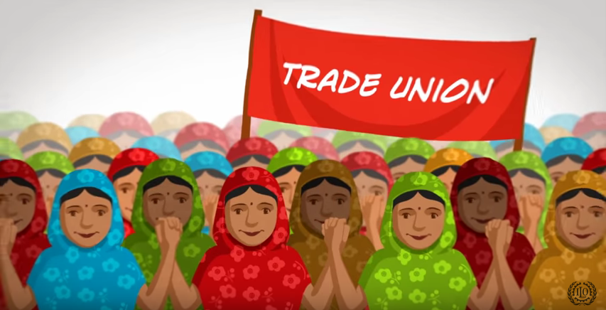article on rmg trade union Garment workers face daunting challenges to unionization, and remain at risk of  interference and threats by factories three years after the rana.