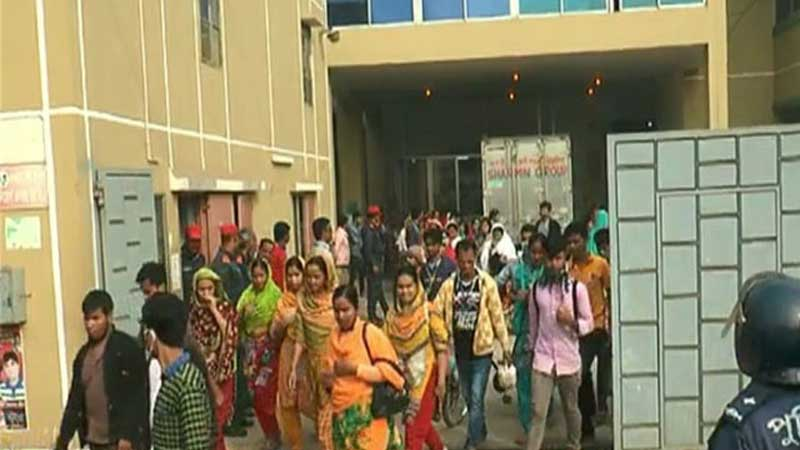 5,000 RMG workers fired from jobs | RMG Bangladesh